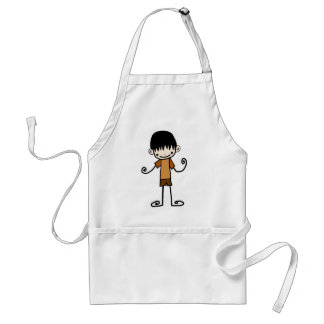 Free Characters by Jaidee Adult Apron