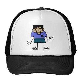 Free Characters by Jaidee Family Trucker Hat