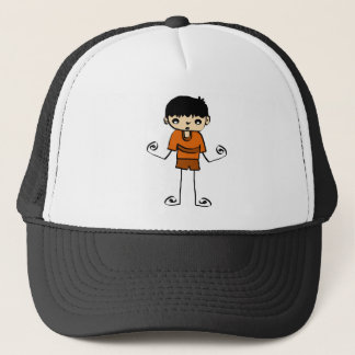 Free Characters by Jaidee Trucker Hat
