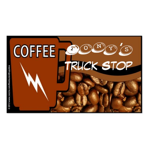 Free coffee card 9 punch two sided business card templates for 2 sided business cards templates free
