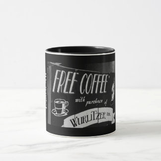 Free Coffee with Purchase Mug