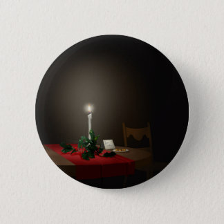Free Cookies Fine Art for Christmas Button