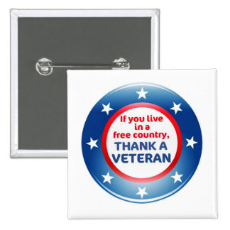 Free Country Veterans Day Buttons