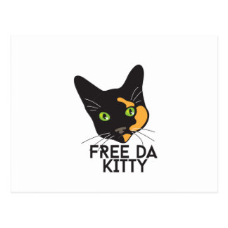 Free Da Kitty Postcard