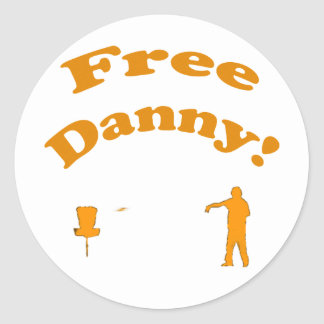 Free Danny! Stickers