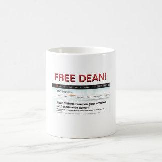FREE DEAN! COFFEE MUG