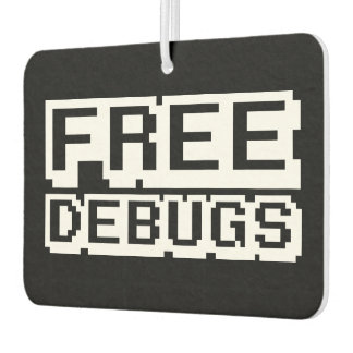 FREE DEBUGS AIR FRESHENER