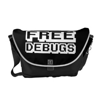 FREE DEBUGS COURIER BAG