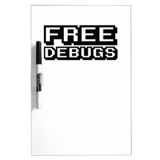 FREE DEBUGS DRY ERASE BOARD