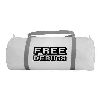 FREE DEBUGS GYM BAG