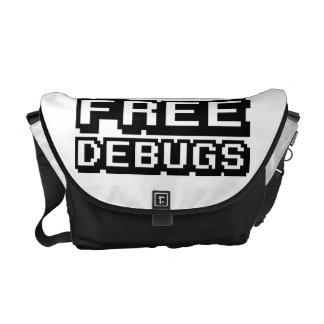 FREE DEBUGS MESSENGER BAG