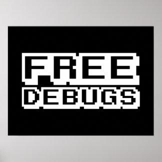 FREE DEBUGS POSTER