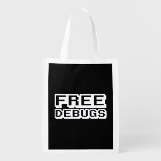 FREE DEBUGS REUSABLE GROCERY BAG