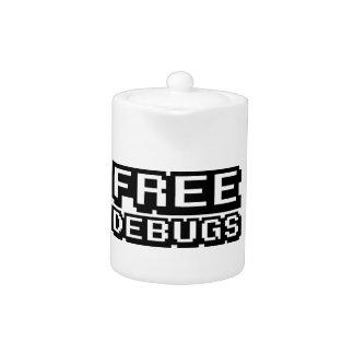 FREE DEBUGS TEAPOT