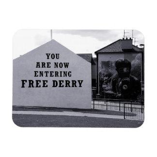 free derry corner - magnet