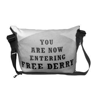free derry wall messenger bag