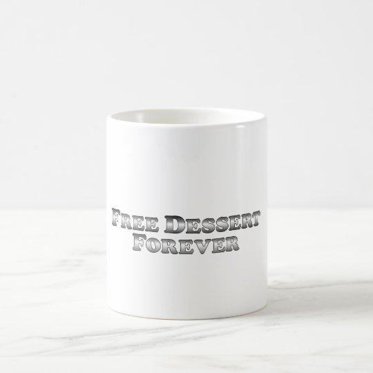 Free Dessert Forever - Basic Coffee Mug