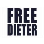FREE Dieter Postcard