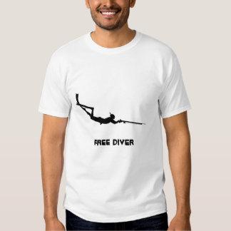 Free Diver Tshirts