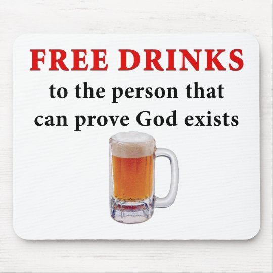 Free Drinks Mouse Pad