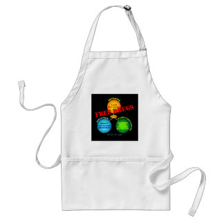 Free Drugs for the Brain Adult Apron