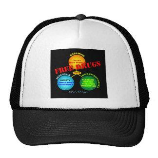 Free Drugs for the Brain Trucker Hat