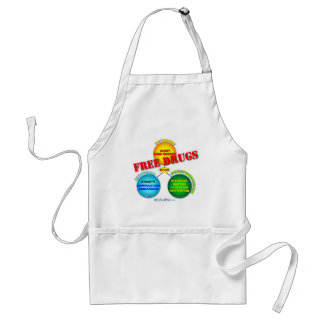 Free Drugs in the Brain Adult Apron