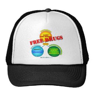 Free Drugs in the Brain Trucker Hat