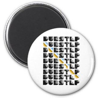 free Dubstep sound artists allstars 2 Inch Round Magnet