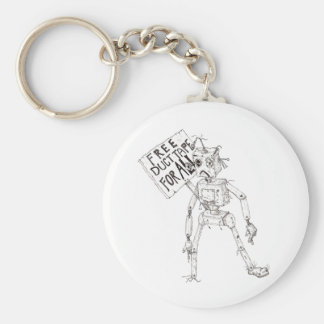 Free Duct Tape For All! Basic Round Button Keychain