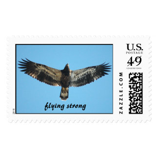 Free Eagle, Flying Strong Stamps