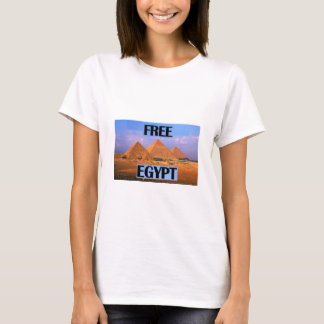 Free Egypt - Featuring the Pyramids T-Shirt
