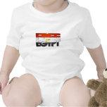 Free Egypt Flag Baby Bodysuits