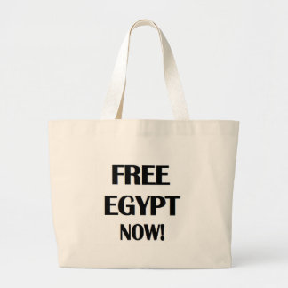 Free Egypt Now! Large Tote Bag