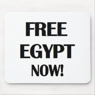 Free Egypt Now! Mouse Pad