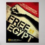Free Egypt! Poster
