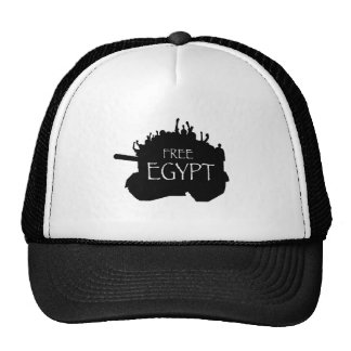 Free Egypt w/ Protesters Trucker Hat