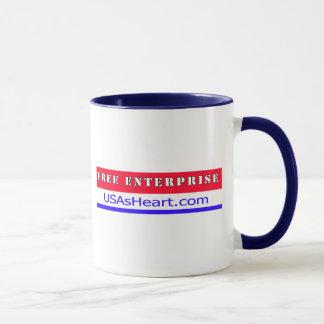 Free Enterprise Entreprenuer USA America Mug