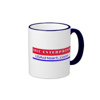 Free Enterprise Entreprenuer USA America Mugs