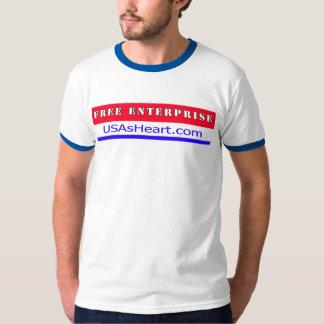 Free Enterprise Entreprenuer USA America T-Shirt