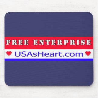 Free Enterprise - Heart of America Mouse Pad