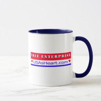 Free Enterprise - Heart of America Mug
