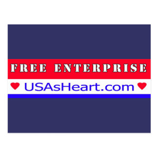 Free Enterprise - Heart of America Postcard