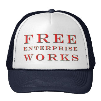 Free Enterprise Works Hat