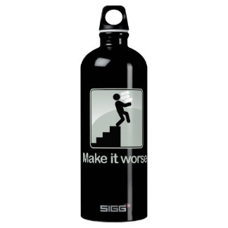 Free Expressions Aluminum Water Bottle