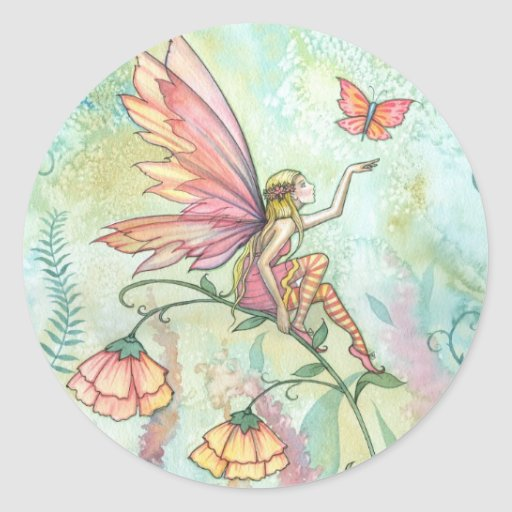 'Free' Fairy and Butterfly Stickers