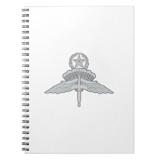 FREE FALL JUMPMASTER NOTE BOOK