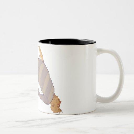 Free fall Two-Tone coffee mug