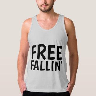 FREE FALLIN' Vintage T-shirts, Men's Tank Top