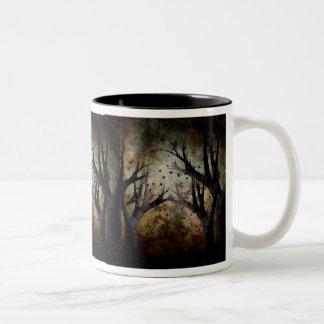 Free Falling Two-Tone Coffee Mug